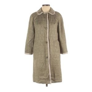 Marc by Marc Jacobs Green Reversible Coat